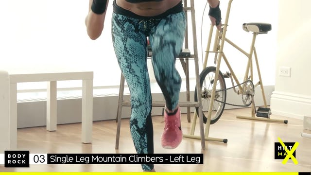 BodyRock HiitMax | Workout 30 Bonus - Legs & Ass