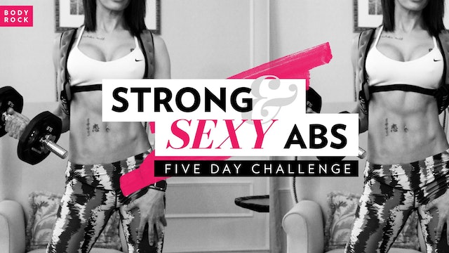 Strong & Sexy Abs: 5 Day Challenge