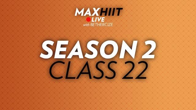 MaxHIIT LIVE | S2:C22 - Sided Pyramid