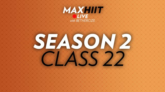 MaxHIIT LIVE | S2:C22 - Sided Pyramid