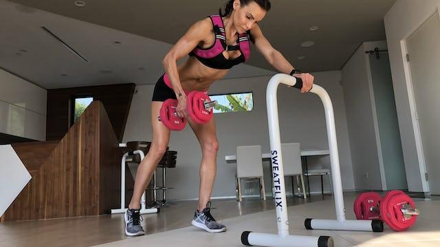 HIITMax Live #136 - Resistance Legs, Back & Shoulder Strength & Cardio