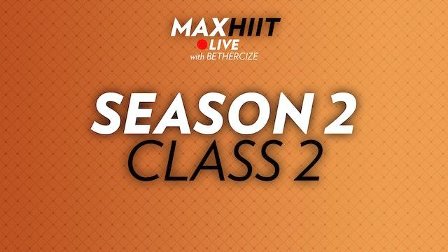 MaxHIIT LIVE | S2:C2 - Booty band