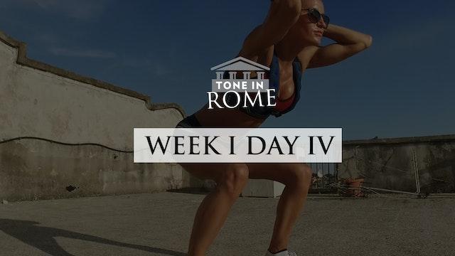 Tone in Rome   Week 1   Day 4