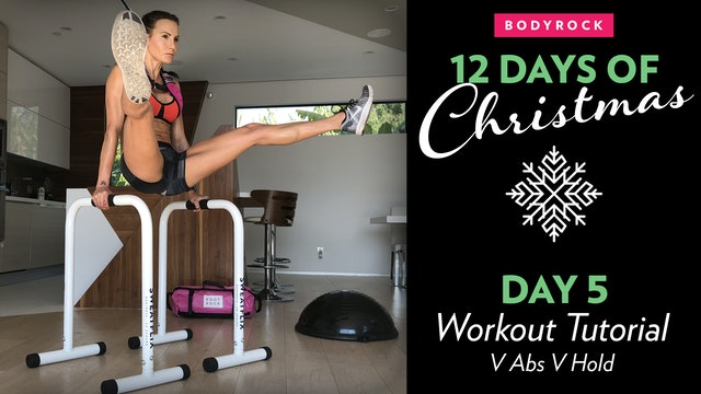 Day 5 Tutorial: V Abs & V Hold