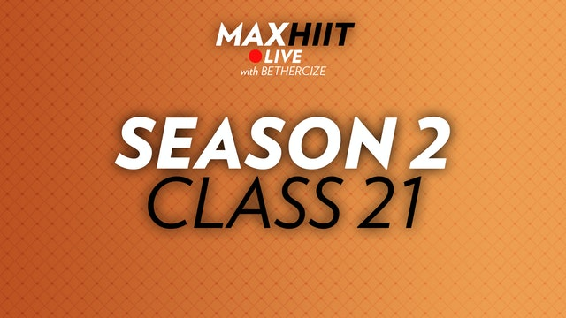 MaxHIIT LIVE | S2:C21 - Cardio Killer