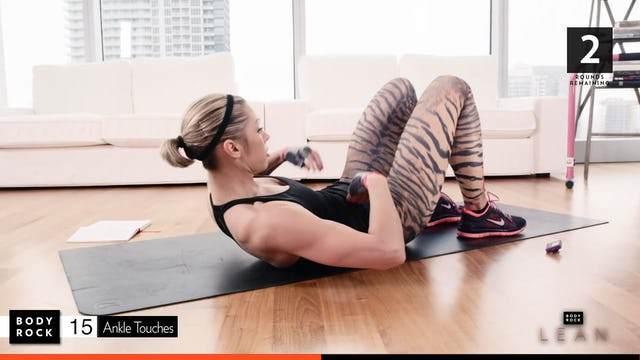 BodyRock Lean | Workout 6 Bonus - Abs