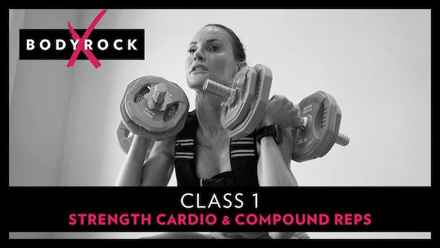 BRX 1 - Strength, Cardio, Compound Reps