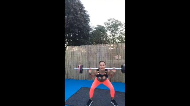 HIITMAX Reps Live #44 - 1500 Squats & UpperBody