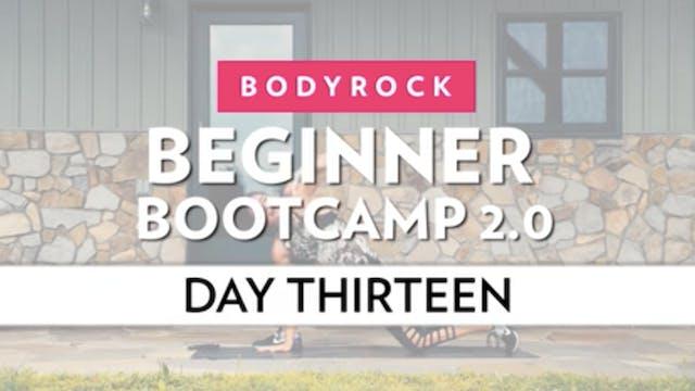 BodyRock Bootcamp - Day 13