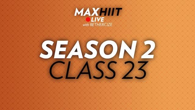 MaxHIIT LIVE | S2:C23 - Sandbag Workout