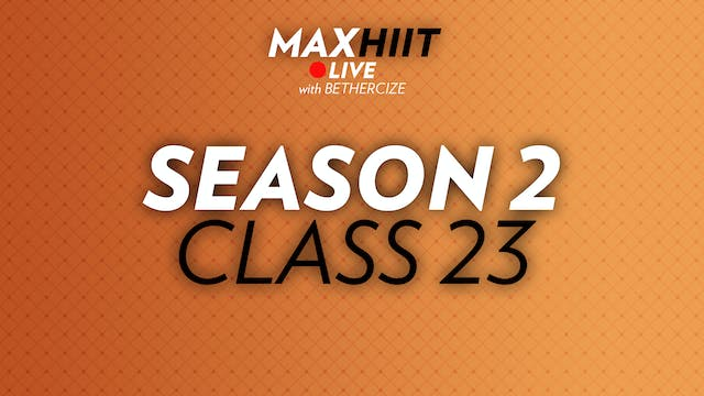 MaxHIIT LIVE | S2:C23 - Sandbag Workout