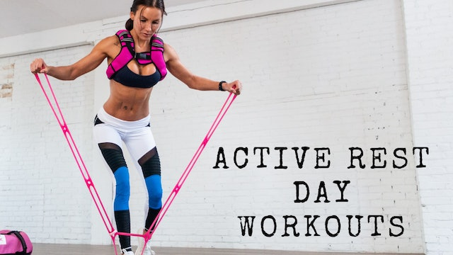 Active Rest Day Workouts