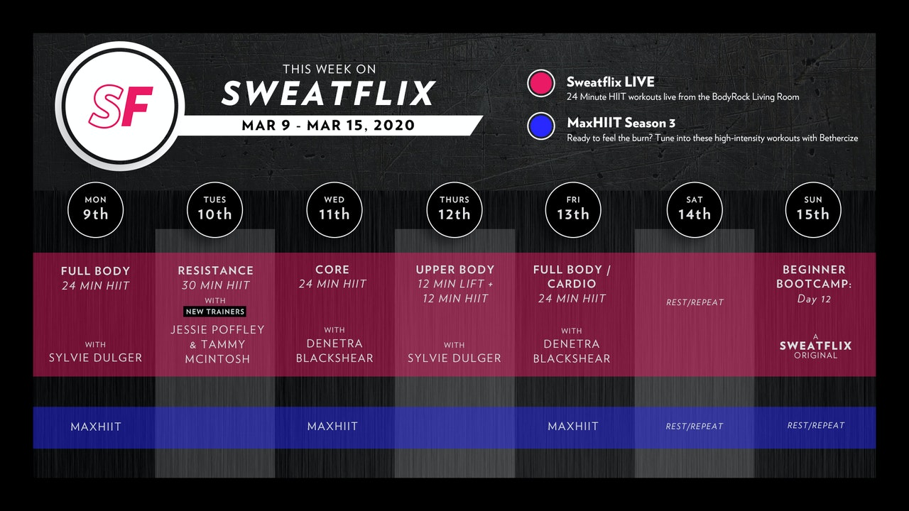 This Week on Sweatflix