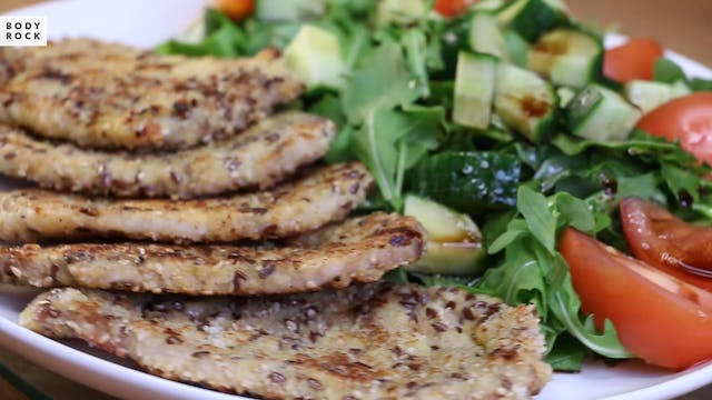 Savory Seeded Pork Schnitzel