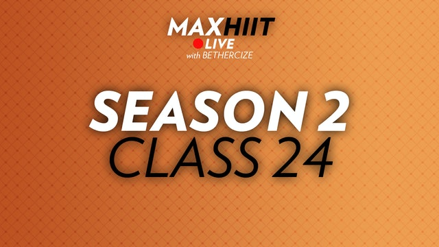 MaxHIIT LIVE | S2:C24 - Cardio Time