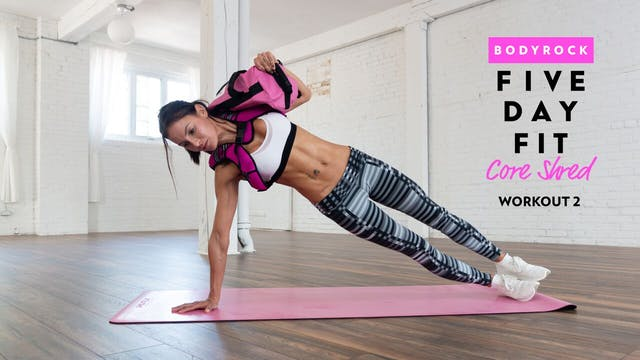 Core Shred - Workout 2