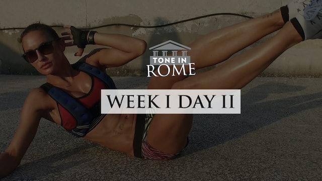 Tone in Rome | Week 1 | Day 2