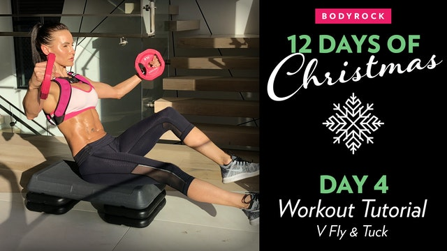 Day 4 Tutorial: Fly & Bike V Tuck Legs