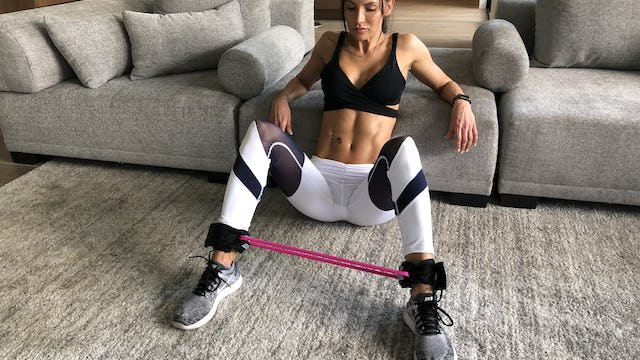 HIITMax Live #139 - Ass & Thigh Resistance Band Workout