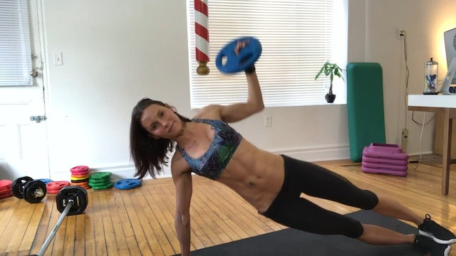 BodyRockX Live #100 - Stability Ball - Core Challenge