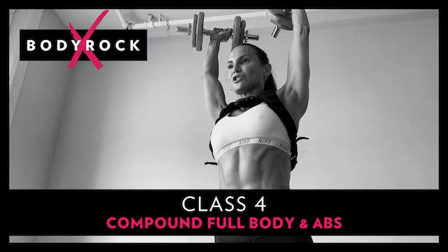 BRX 4 - Compound Full Body & Abs