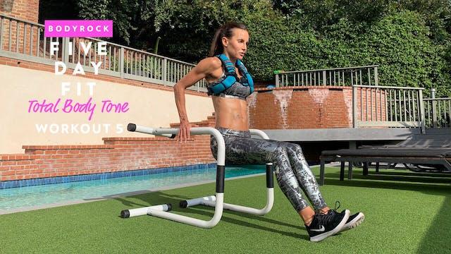 Total Body Tone - Workout 5