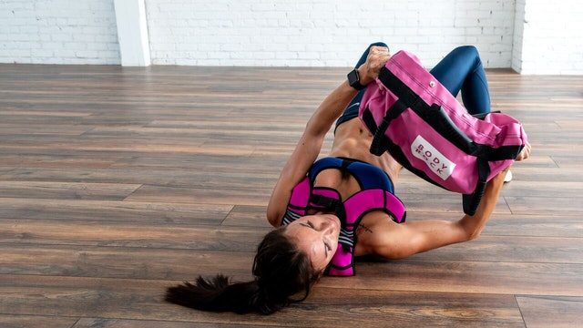HIITMax Live #293 - Sandbag Full Body Strength & Cardio