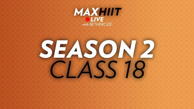MaxHIIT LIVE | S2:C18 - Abs Circuit
