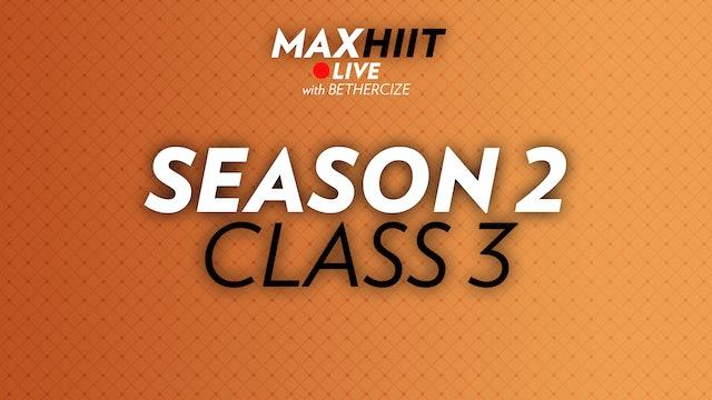 MaxHIIT LIVE | S2:C3 - Sandbag Workout