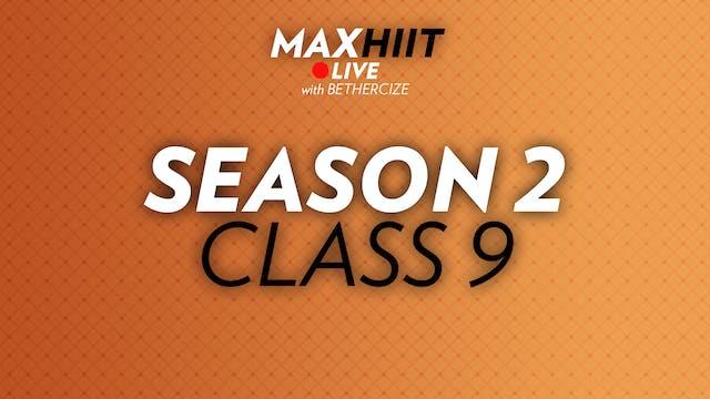 MaxHIIT LIVE | S2:C9 - Burpee Challenge