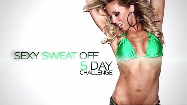 Sexy Sweat Off Challenge - Trailer
