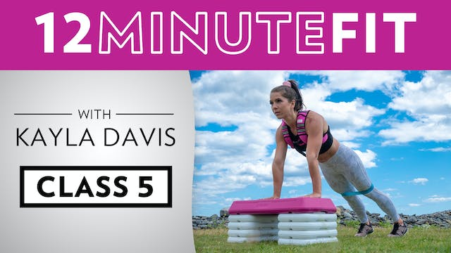 12 Minute Fit - Workout 5