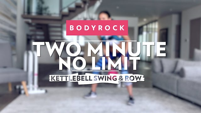 Two Minute No Limit - Day 18 - Swing & Row