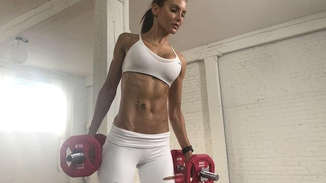 HIITMax #324 - Full Body Strength & Cardio - Sandbag