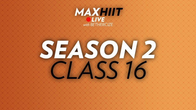MaxHIIT LIVE | S2:C16 - Challenger