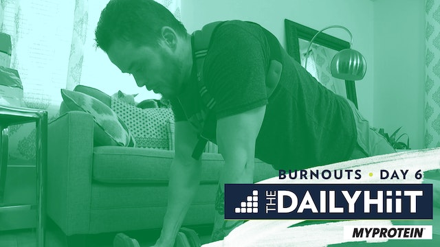 BONUS Burnout 6 | Back & Bi's | The DailyHIIT Show
