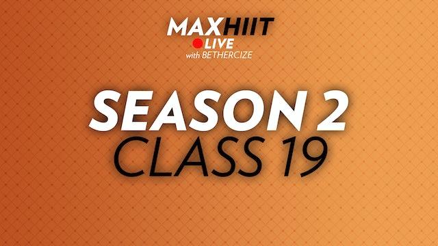 MaxHIIT LIVE | S2:C19 - Balancing Act