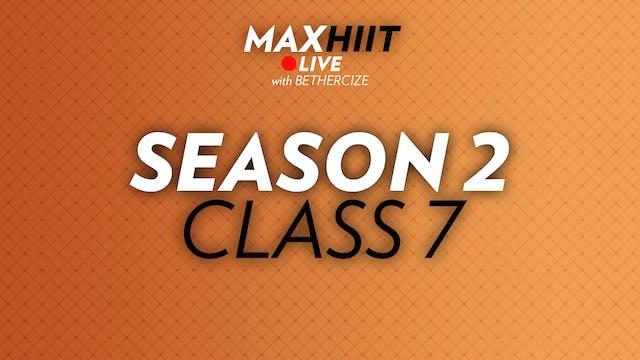 MaxHIIT LIVE | S2:C7 - Compound Pyramid