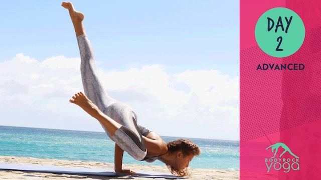 BodyRock Yoga   Advanced   Day 2