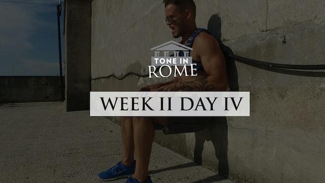Tone in Rome   Week 2   Day 4