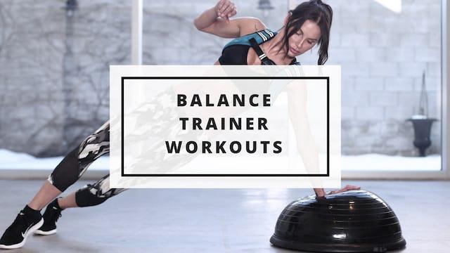 Balance Trainer Workouts
