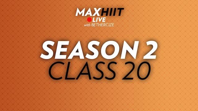 MaxHIIT LIVE | S2:C20 - #legday