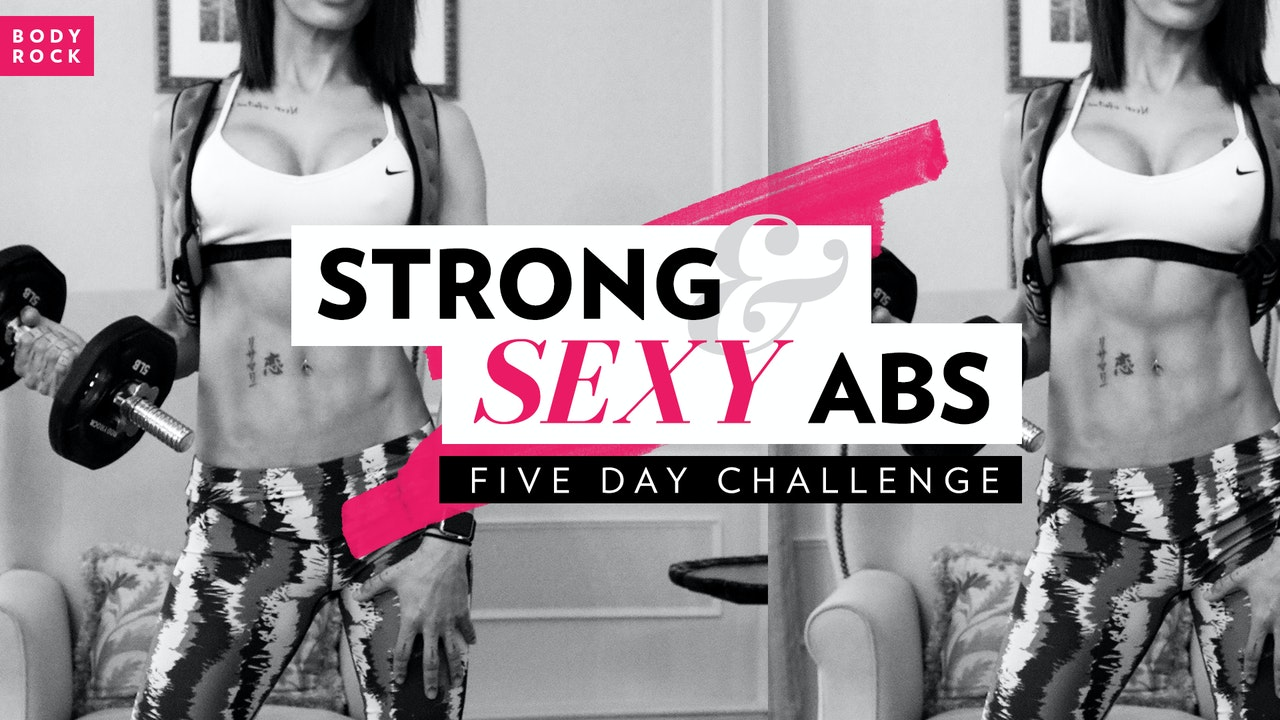 Strong and Sexy Abs I 5 Day Challenge
