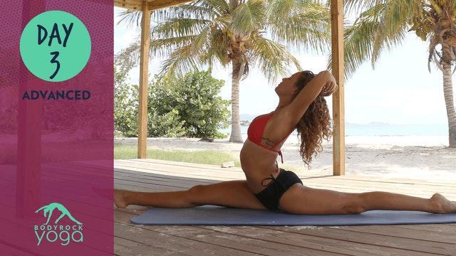 BodyRock Yoga   Advanced   Day 3