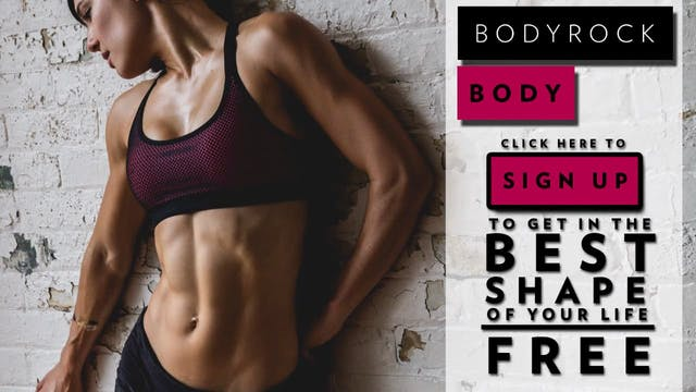 BodyRock Body Workout 18 - Tutorial