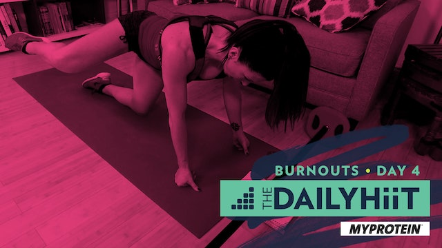 Burnout 4 | Glutes | The DailyHIIT Show