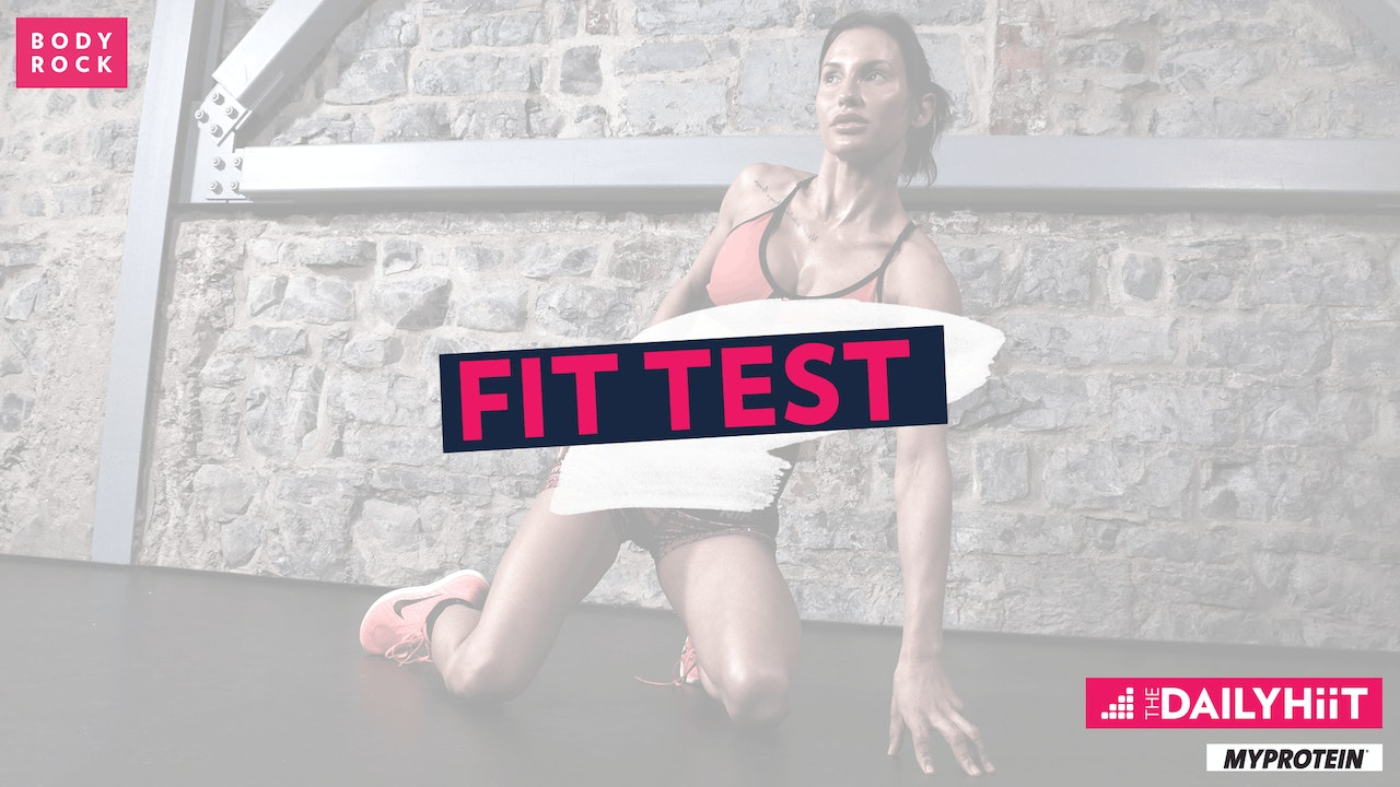 The DailyHIIT Show Season 3 Fit Test