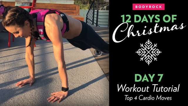 Day 7 Tutorial:Top 4 Cardio Vest Moves