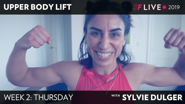 THURS: Upper Body Lift/ Full Body HIIT - SFL2019