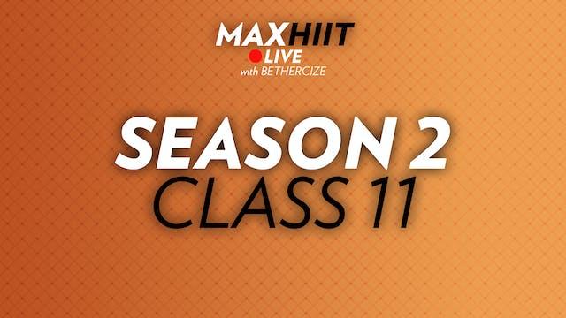 MaxHIIT LIVE | S2:C11 - Challenger Py...